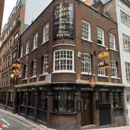 Cheshire Cheese, Temple, London